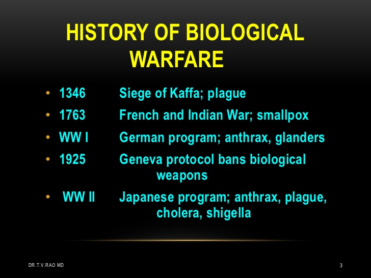 bioweapon history