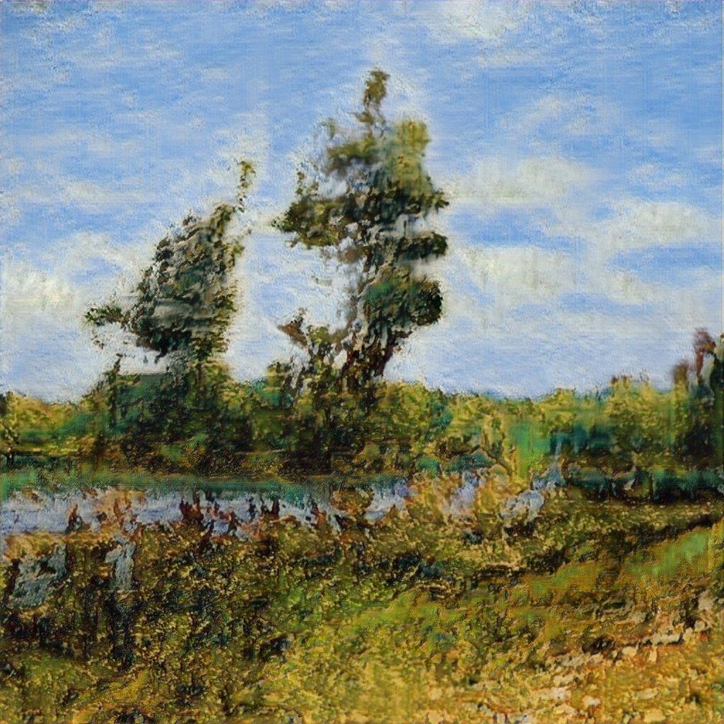 samim - GAN Generated Paintings, by Robbie Barrat: #ML