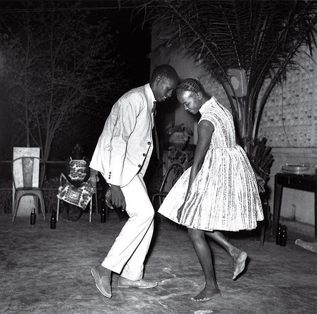 Christmas eve in Mali. 1963 - photo by malick sidibè
