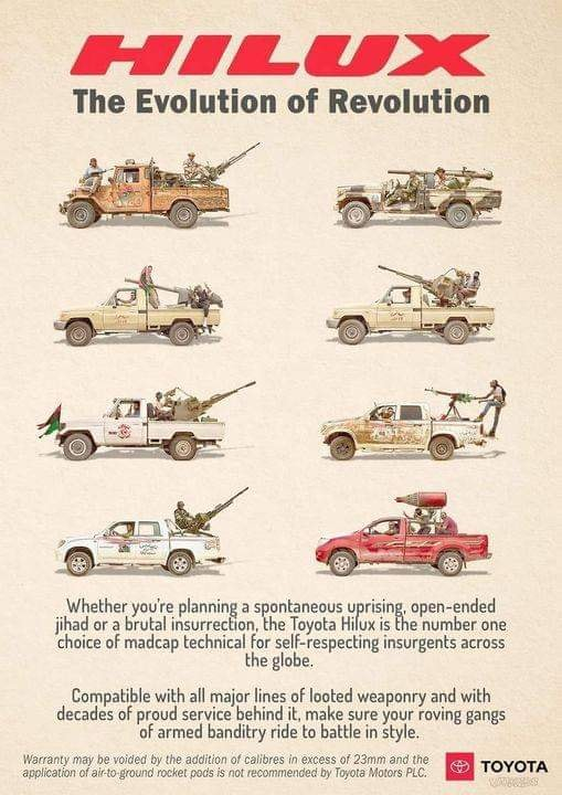 Toyoto Hilux - The Evolution of Revolution