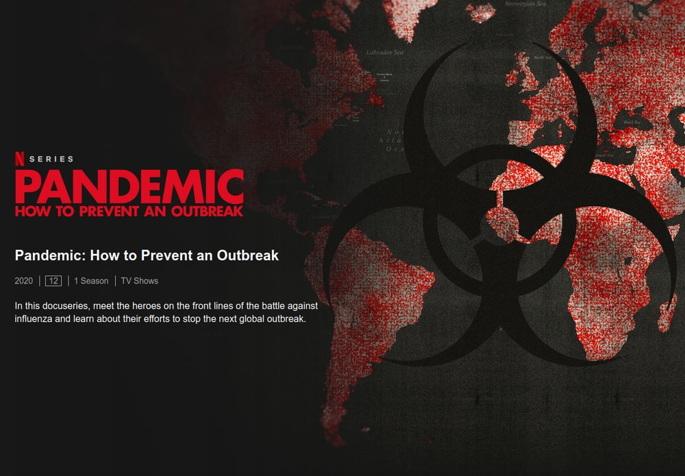 Pandemic on Netflix - How to Prevent an Outbreak